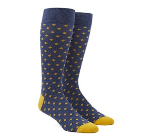Yellow Gold Diamonds mens socks