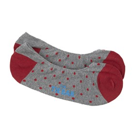 Polka Dot Red Men's Socks