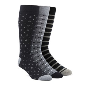 Black The Formal Sock Pack mens socks