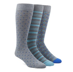 The Aqua Sock Pack Aqua Men's Socks