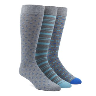 The Aqua Sock Pack Dress Socks