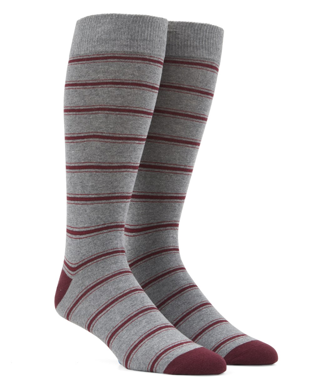 Rival Stripe - Grey - Men's Shoe Size 7-12 - Socks
