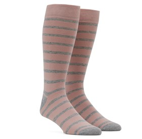 Trad Stripe Blush Men's Socks