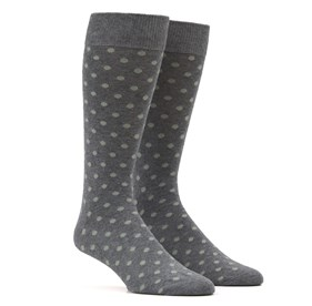 Sage Green Circuit Dots mens socks
