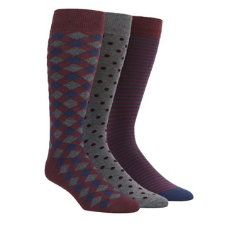 the burgundy sock pack burgundy dress socks
