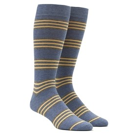 BLUE NEW PREP STRIPE mens socks