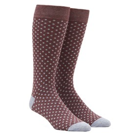 MARSALA PINDOT mens socks