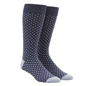 True Navy PINDOT mens socks