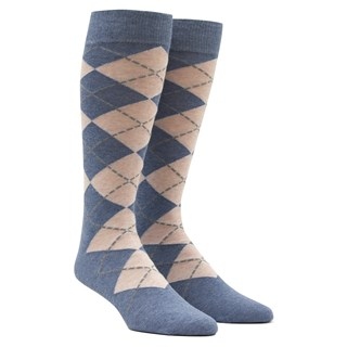 New Argyle Pink Dress Socks