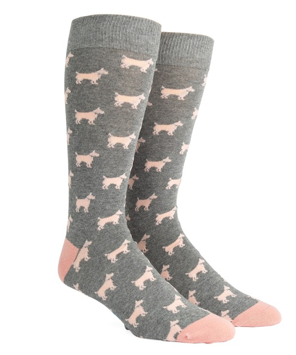 Dog Days Grey Socks