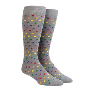 the equality sock grey dress socks