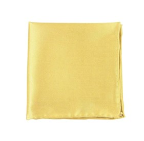 Butter Solid Twill pocket square