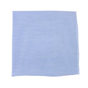 classic chambray sky blue pocket square