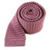 Dusty Rose Textured Solid Knit Tie