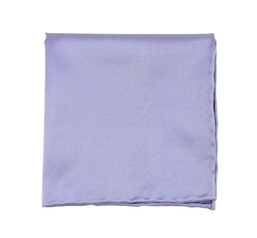 Solid Twill Lilac Pocket Square