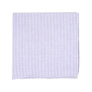 seersucker soft lavender pocket square