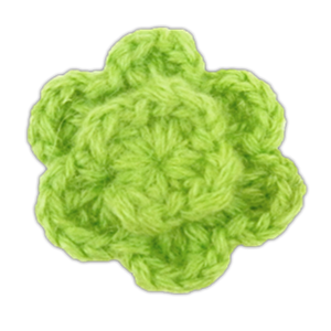 colored lapel flower apple lapel flower