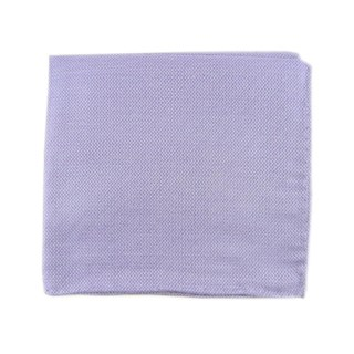 Solid Linen Lavender Pocket Square