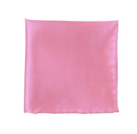 Baby Pink Solid Twill pocket square