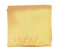Pocket Squares - BIG TOOTH - YELLOW