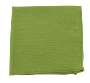 POCKET SQUARES - SOLID WOOL - MOSS