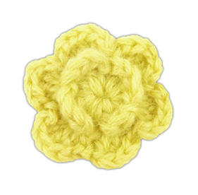 Butter Colored Lapel Flower Lapel Flower