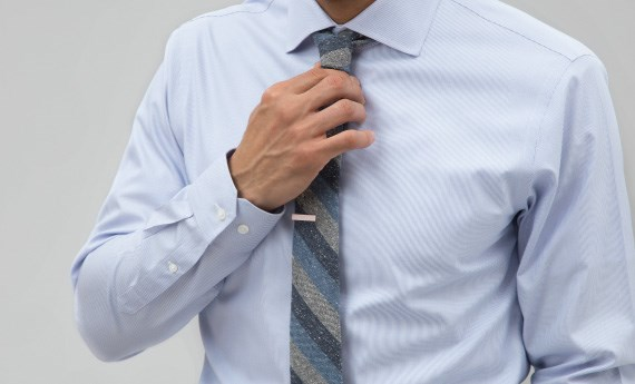 Shop The Tie Bar Essential Blue Shirts
