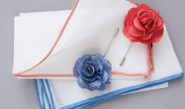 The Tie Bar - Wedding Lapel Flowers and Pins